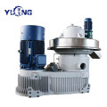 YULONG XGJ560 biomass eucalyptus pellet machine